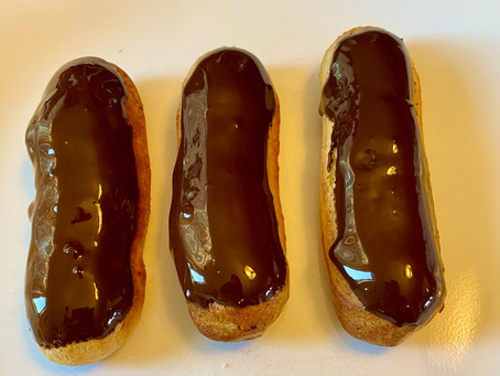 Eating Alpha #1. Eclairs