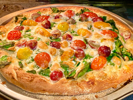 "Theo's ""Best Pizza Ever!""? Virtual Feast"