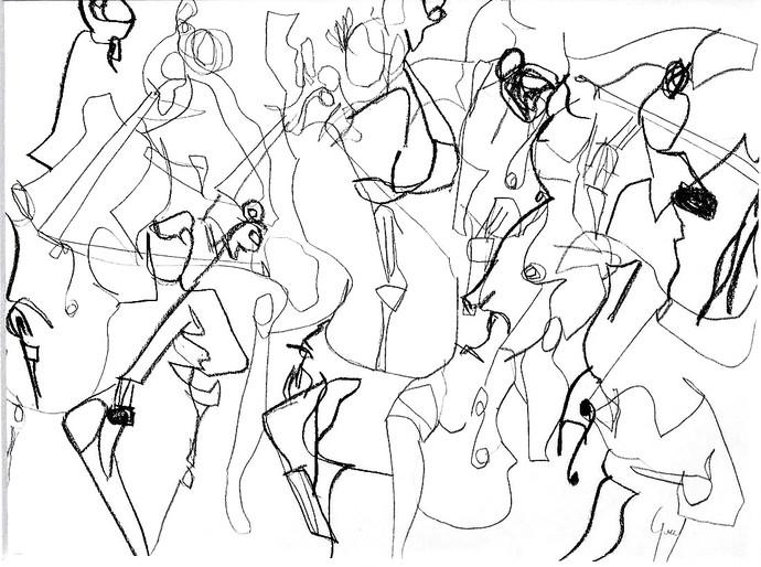 Etude pour violon 3