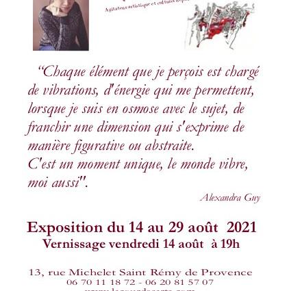 Exposition Saint Rémy de Provence été 2021