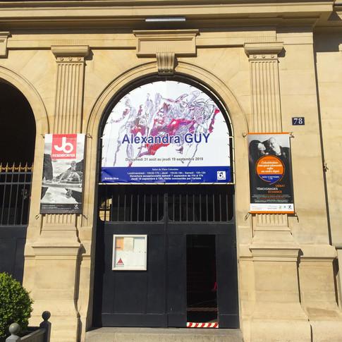 Exposition Mairie de Paris 6ème ardt - Salon du Vieux Colombier - Place Saint Sulpice