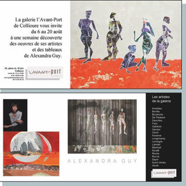 Galerie l'Avant Port Art House Collioure