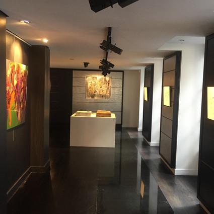 Exposition personnelle boutique de Patrick Roger