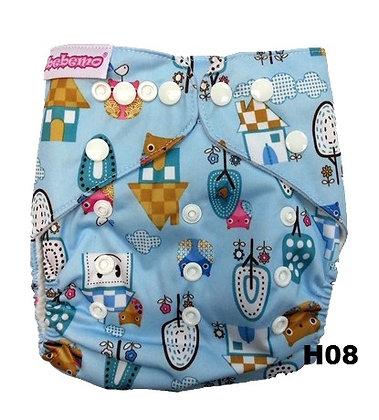 Reusable Cloth Diaper (Standard size) -Hickory