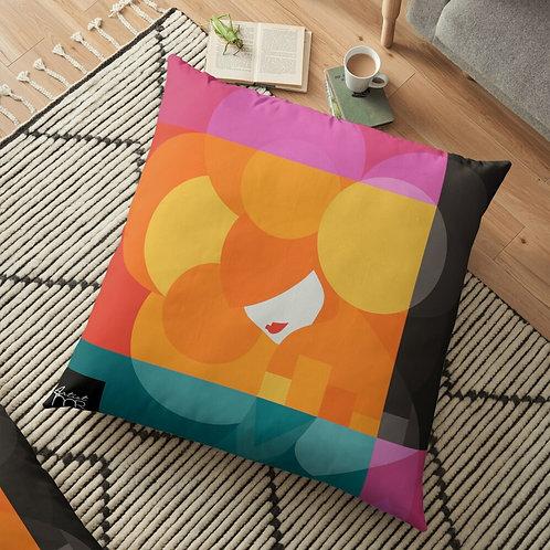 Calliope . Floor Pillow