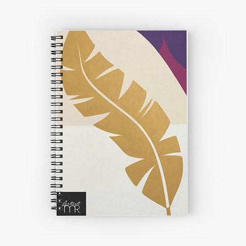 La Plume . Spiral Notebook