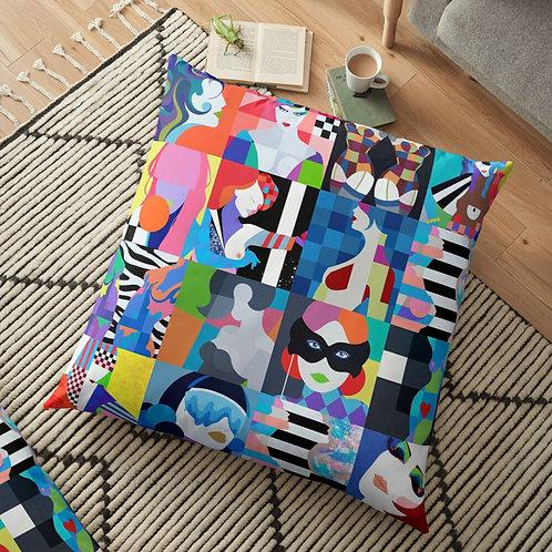 Senora Doce . Floor Pillow