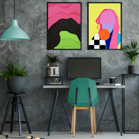 5 Reasons to Indulge in Art for your Home Office