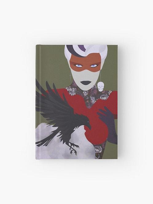 Morrigan . Hardcover Journal