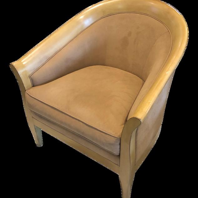 1960s Vintage Stickley Bay Hill Maple Club Chair