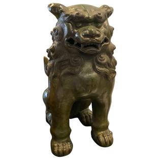 Chinese Bronze Foo Dog