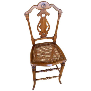 Antique English High back Chair