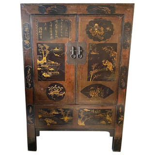 Chinese Tall Cabinet