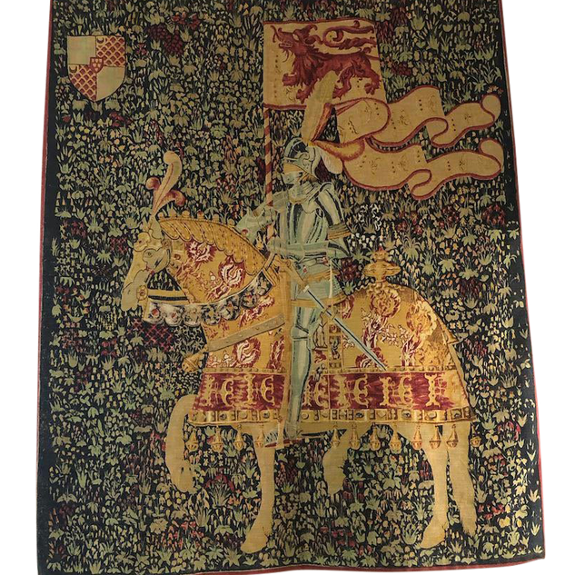 1960s French Style Tapestry