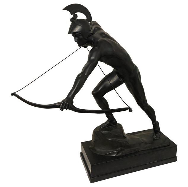 Original Deco Roman Archer by Otto Schmidt Hofer