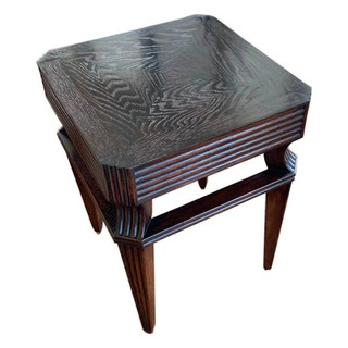 Melrose House Mahogany Square Side Table