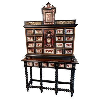 Antique Italian Specimen / Curiosity Cabinet