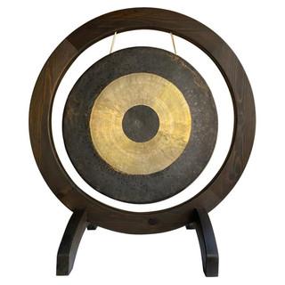 Modern Bronze and Brass Gong
