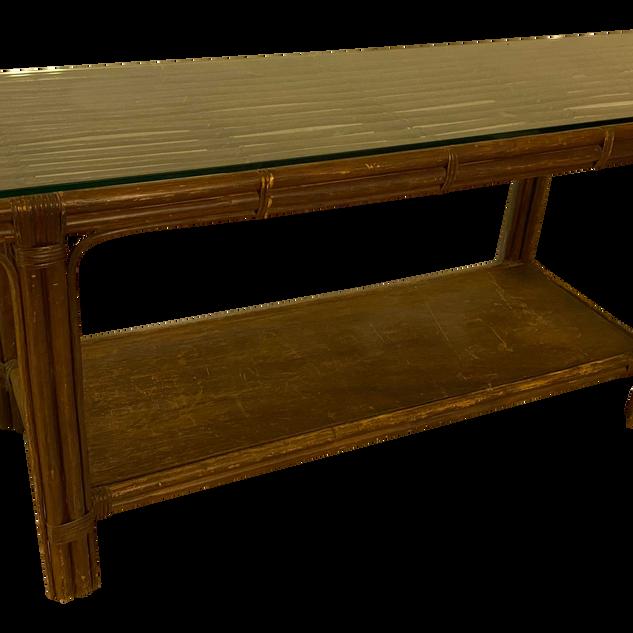 Bamboo Sofa Table / Console