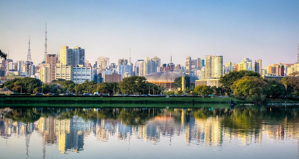 Ibirapuera Park Skyline - Sao Paulo - Br