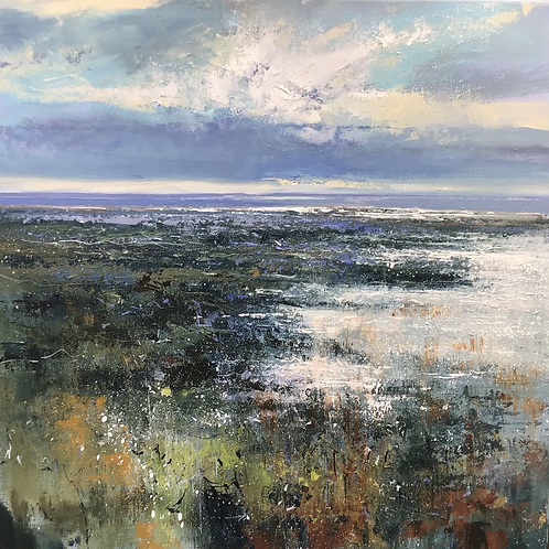"""Limited edition print """"Winter in the Estuary""""  by Jonathan Trim"""
