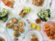 image de table de petit-déjeuner