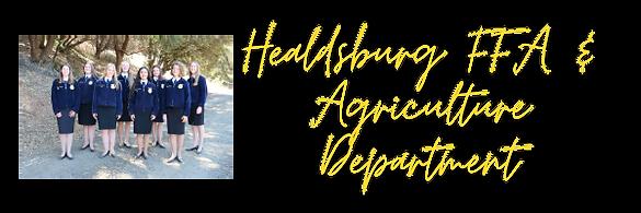 Healdsburg FFA & Agriculture Department