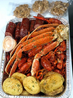 crab leg clusters