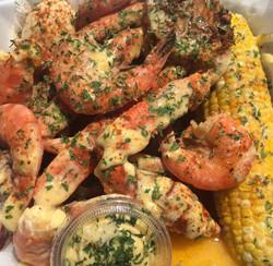 boiled shrimp butter sauce