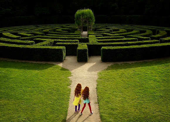 Labyrinth. série Come and Play with us