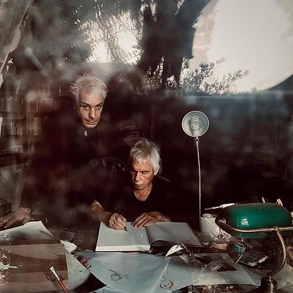 Jan Saudek s Tillem Lindemannem