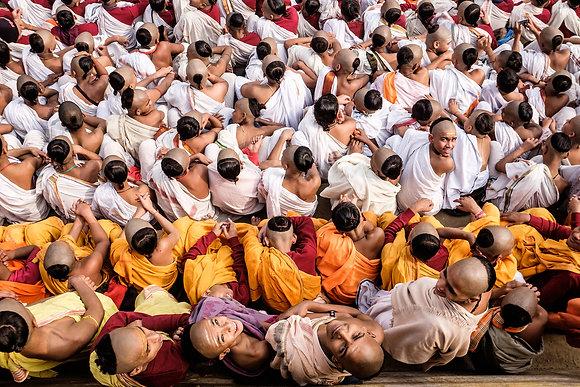 Mnichové z Váránasí - Indie (2016)