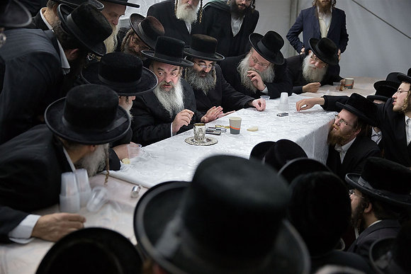Lelow, Polsko - Výročí smrti zázračného rabína Dawida Bidermana, 2018