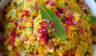 Turmeric Brown Rice Salad