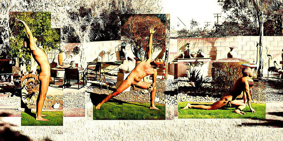 Sun Worship Collage