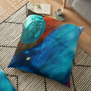 Gay Death Star floor-pillow
