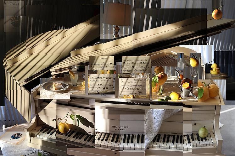 Johanne Sebastian Bach's Invention Number 1 in Vitamin C major