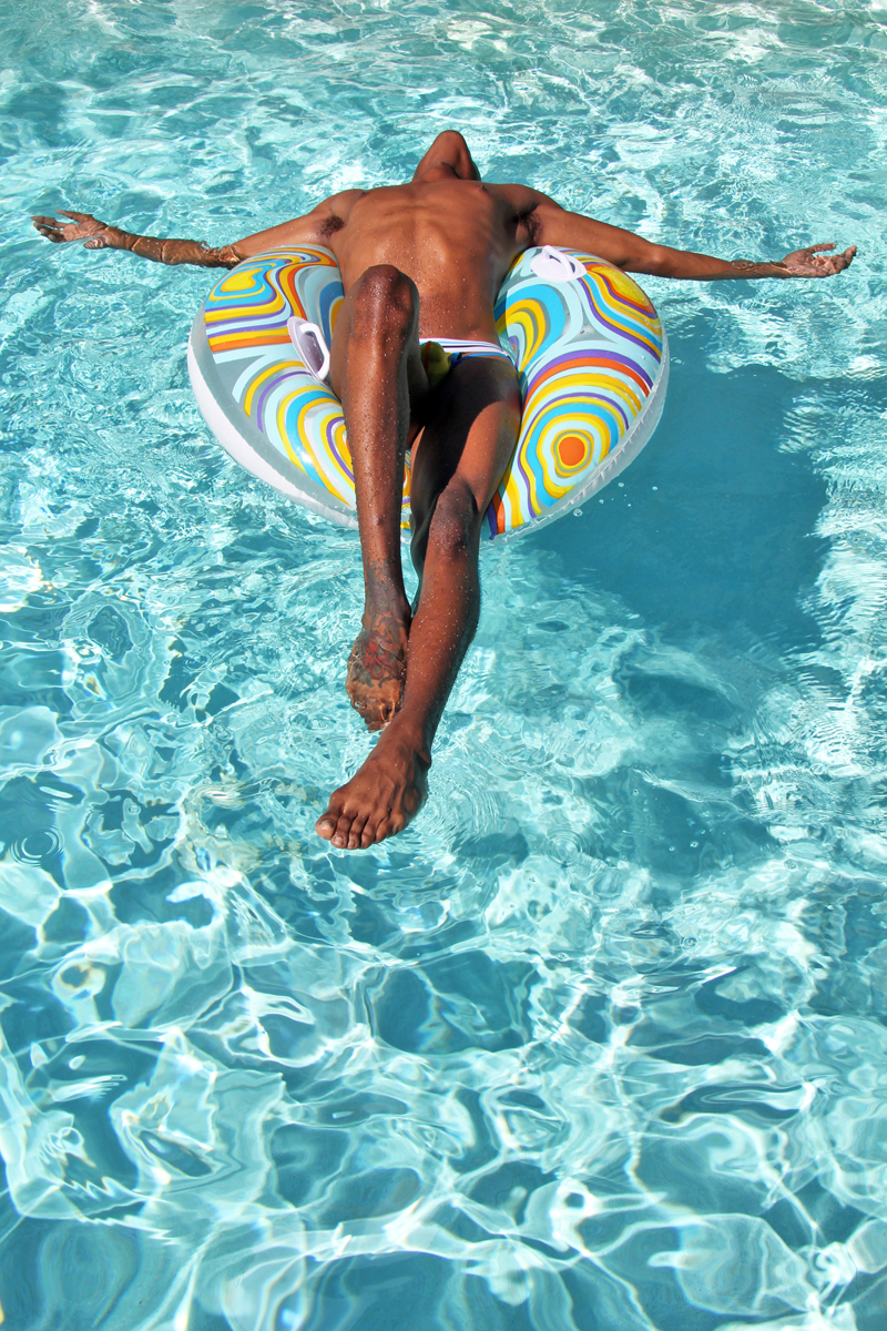 Jesus on the Floatie