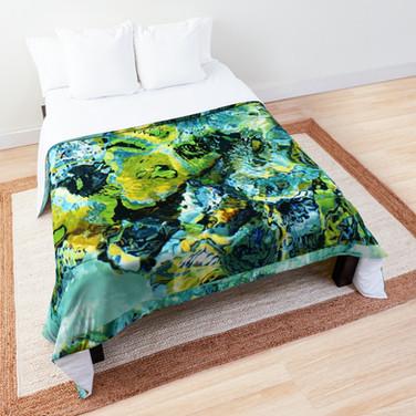 Mask of Gustav Klimt comforter