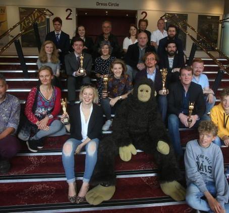 'Dark Horse' wins Herald Angel award