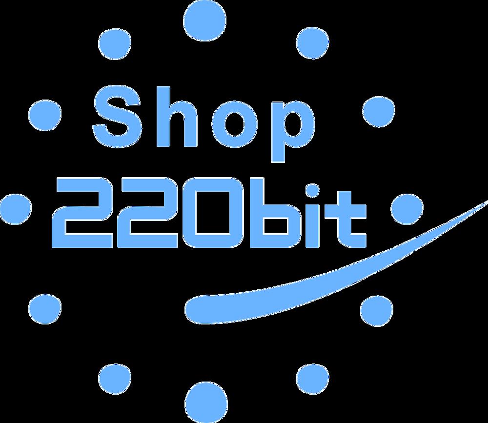 Логотип 220bitShop
