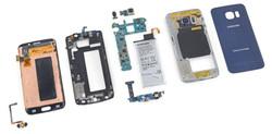 разбор samsung Galaxy S6 Edge 220bit
