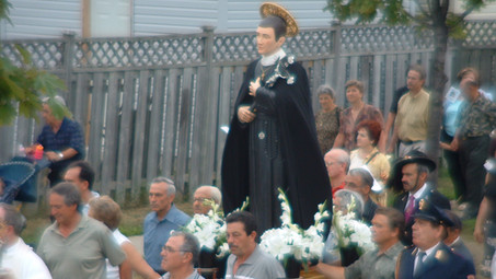 Annuale Messa e Processione, Annual Mass and Procession.