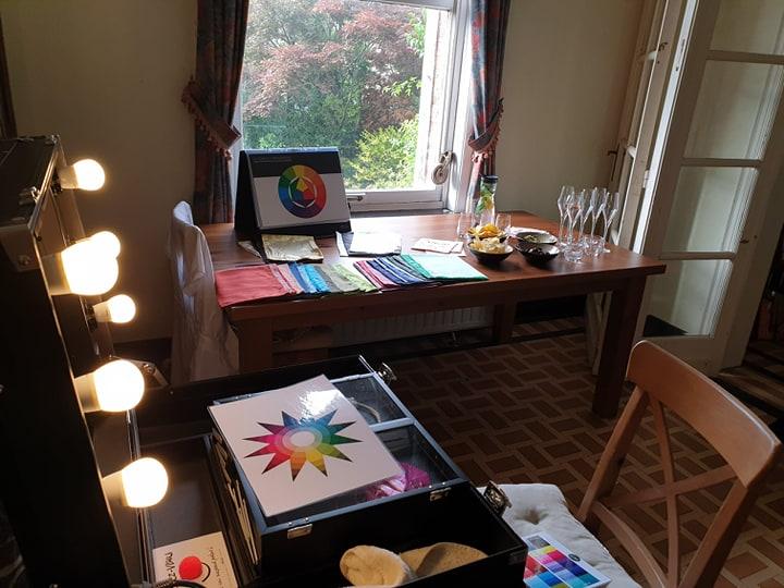 Atelier colorimétrie