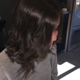 coiffure après