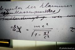 Albert Einstein manuscript