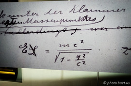 Manuscrit d'Albert Einstein