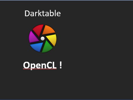 Darktable - Can't activate OpenCL !