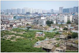 Nouveaux bâtiments autour des villes