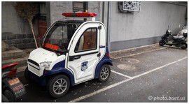 Mini voiture de police